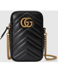 Gucci - GG Marmont Mini Tasche - Lyst