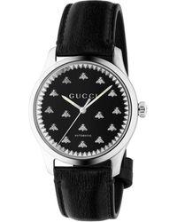 Gucci Reloj G-Timeless, 42 mm - Negro