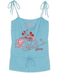 Gucci Disney X Tank Top - Blue