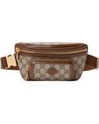 Gucci Sac ceinture avec détail gg - Neutre
