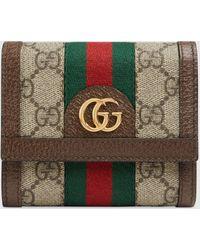 Gucci - 〔オフィディア〕GG ウォレット - Lyst