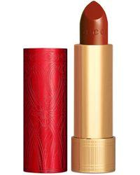Gucci 505 Janet Rust, edición limitada Rouge à Lèvres de satén - Rojo