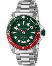 Gucci Reloj Dive, 45mm - Multicolor