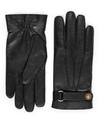 Gucci Gants en cuir - Noir