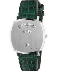 Gucci Grip Uhr 35 mm - Grün