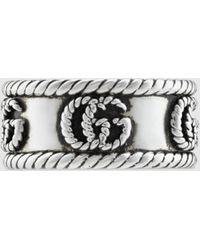 Gucci Doppel G Ring - Mettallic