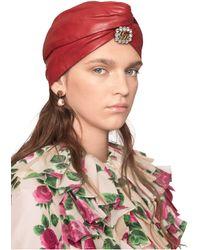 Gucci Broche doree Crystal GG - Multicolore