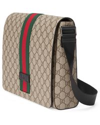 Gucci GG Supreme Messenger - Natural
