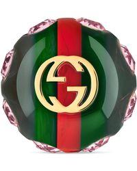 Gucci Bague Vintage Web - Vert
