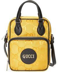 Gucci Bolso de hombro Off The Grid - Amarillo