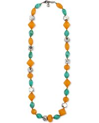 Gucci - Resin Bead Necklace - Lyst