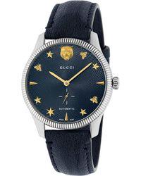 Gucci G-Timeless-Uhr, 40 mm - Blau