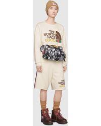 Gucci The North Face x Pullover aus Baumwolle - Weiß