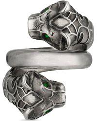 Gucci - Tiger Head Ring - Lyst