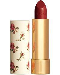 Gucci 502 Eadie Scarlet, Rouge à Lèvres Barra de labios traslúcida - Rojo