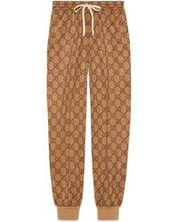 Gucci GG Technical Jersey jogging Pant - Natural