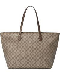Gucci Ophidia GG Large Tote - Natural