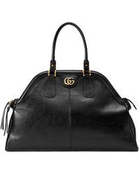 Gucci Großer Shopper mit Henkeln RE(BELLE) - Schwarz