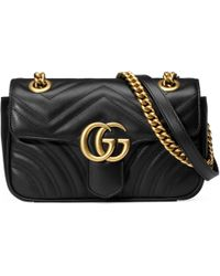Gucci - Minibolso GG Marmont de Matelassé - Lyst