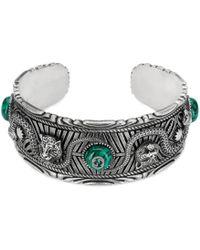 Gucci Garden Bracelet In Silver - Metallic