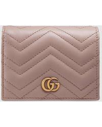 Gucci Kartenetui GG MARMONT - Mehrfarbig