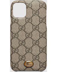 Gucci グッチ〔オフィディア〕 Iphone 8 Plus ケース - ナチュラル