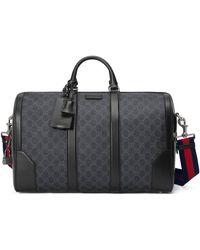 Gucci Large GG Duffle Bag - Black