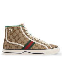 Gucci Sneaker alta Tennis 1977 uomo - Neutro