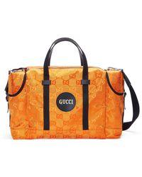 Gucci Bolsa de viaje Off The Grid - Naranja