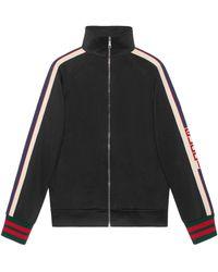Gucci Technical Jersey Jacket - Black