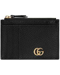 Gucci GG Marmont Card Case - Black