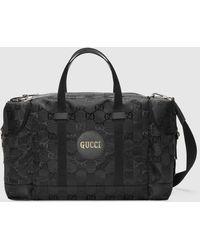 Gucci グッチ公式 Off The Grid ダッフルバッグブラック GG Econyl®color_descriptionリサイクル素材