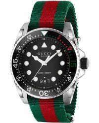 Gucci - Orologio Dive, 45 mm - Lyst
