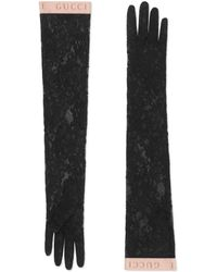 Gucci Lace Gloves - Black