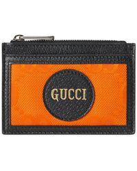 Gucci Tarjetero Off The Grid - Naranja