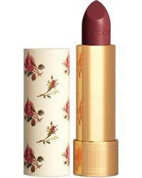 Gucci 506 Louisa Red, Rouge à Lèvres Barra de labios traslúcida - Rojo