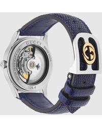 Gucci G-Timeless Uhr, 38 mm - Blau