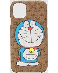 Gucci Doraemon x iPhone 11 Hülle - Natur