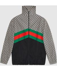 Gucci - オーバーサイズ テクニカルジャージー ジャケット - Lyst