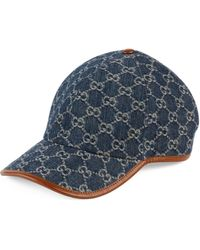 Gucci Cappellino da baseball GG - Blu