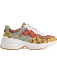 Gucci Rhyton GG Multicolor Sneaker - Yellow