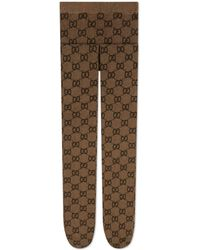 Gucci Collant con motivo GG - Multicolore