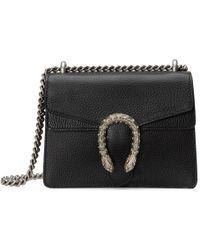 Gucci Mini Dionysus Wallet-on-chain - Black