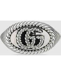 Gucci - Doppel G Ring - Lyst