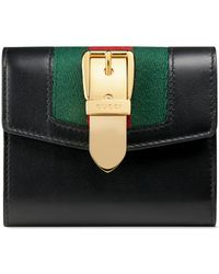 Gucci - Sylvie Leather Wallet - Lyst