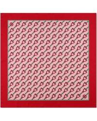Gucci - Pañuelo con Estampado de Estribos - Lyst