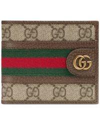 Gucci Ophidia gg portemonnaie - Braun