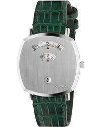 Gucci Orologio Grip, 35 mm - Verde