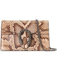 Gucci - Sac super mini Dionysus en python - Lyst