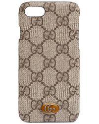 Gucci - Étui pour iPhone 8 Ophidia - Lyst